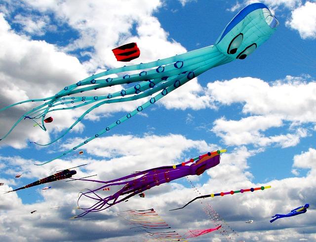 Kite Festival ( Credit - Pixabay)