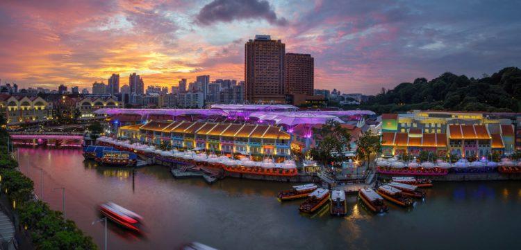 Набережная Клар Ки - достопримечательности Сингапура