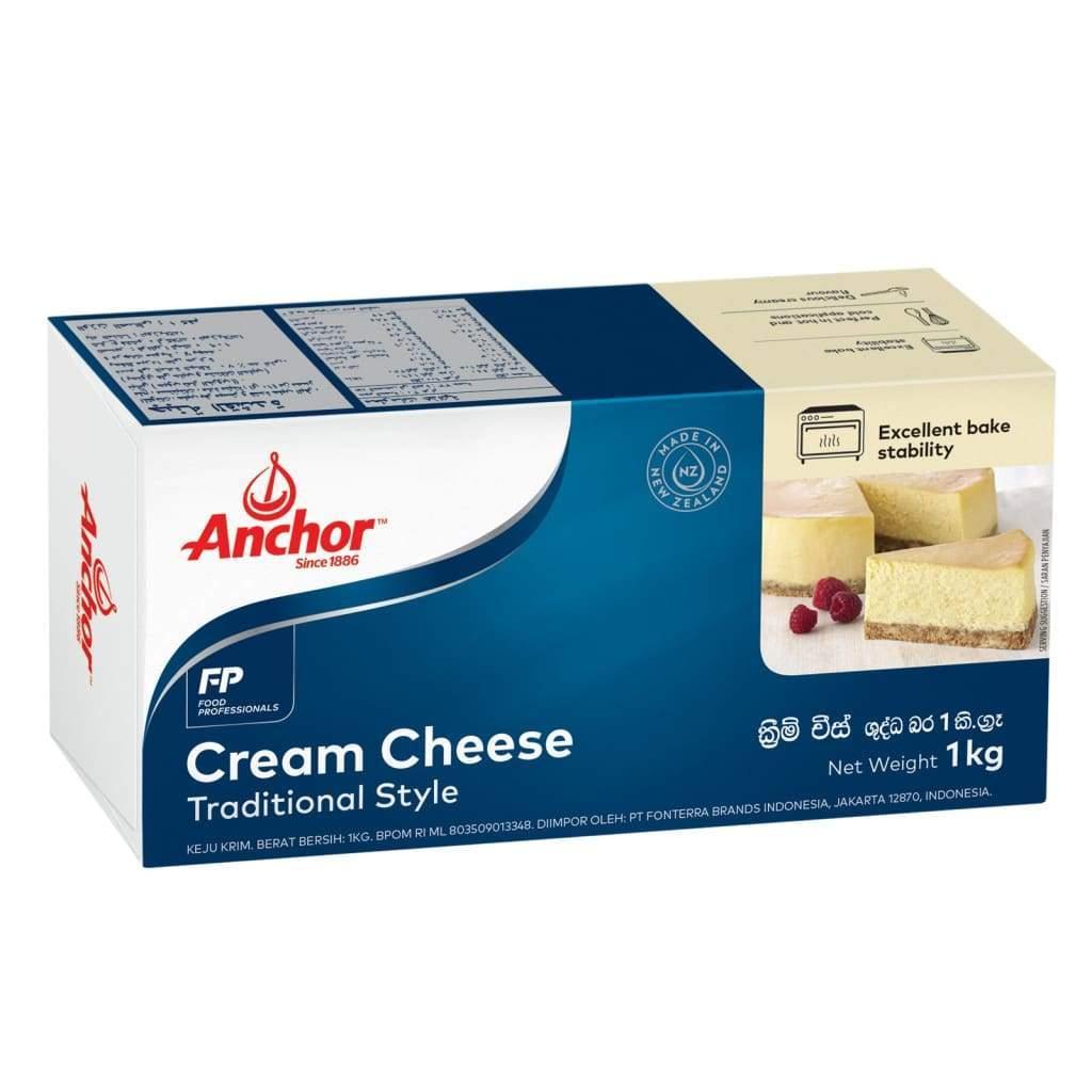 9. Anchor Cream Cheese 1 kg. ราคา 335 บาท