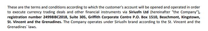 Обзор SiriusFN:  анализ деятельности брокера, отзывы реальных клиентов