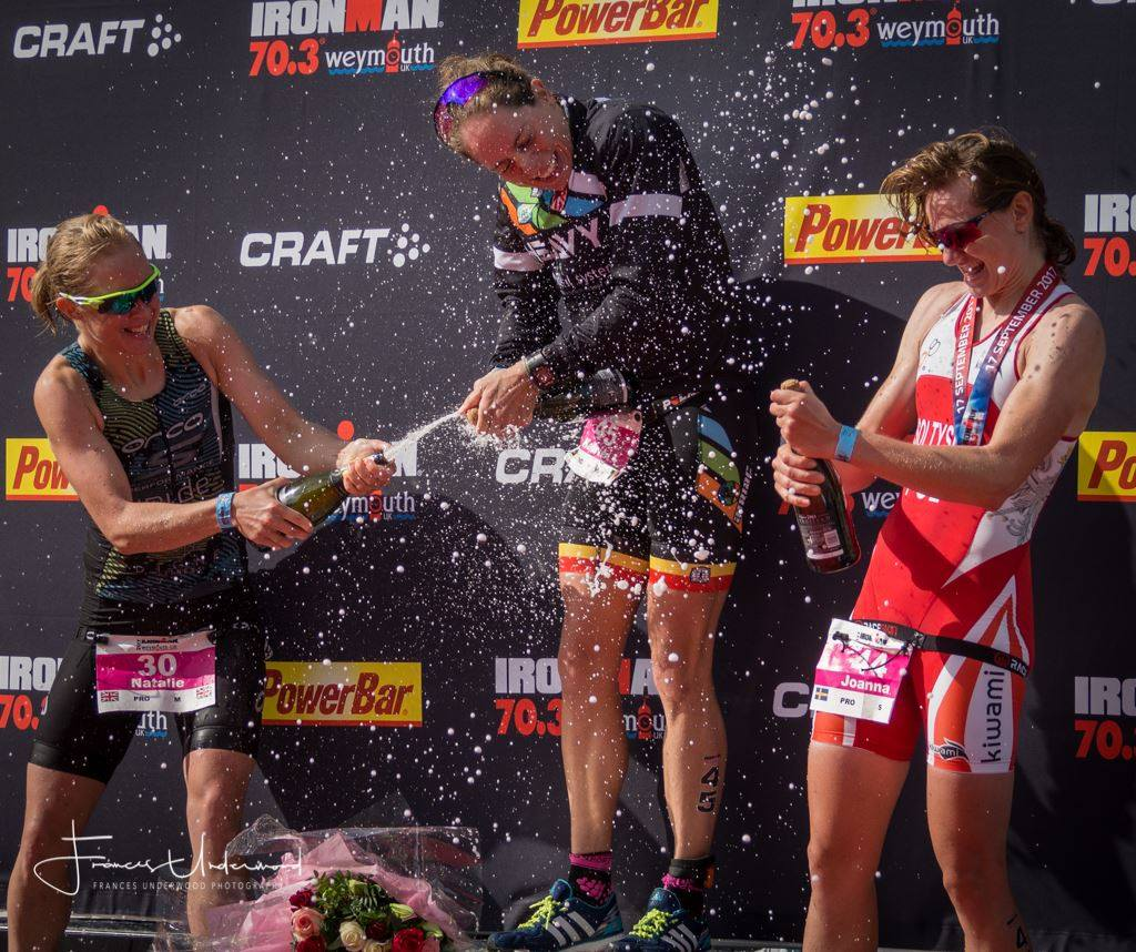 Weymouth 70.3 Sołtysiak podium.jpg
