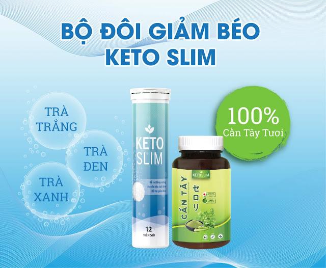 Viên sủi giảm cân Keto Slim có tốt không?