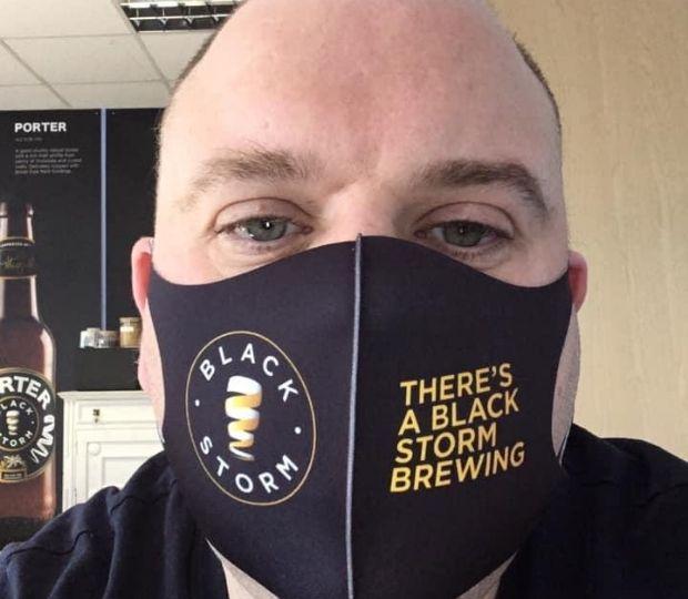Black Storm Face Mask