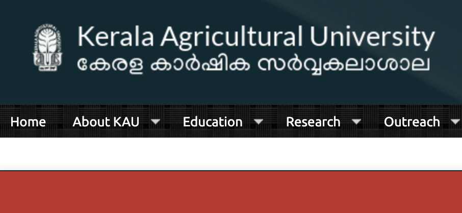 Kerala Agriculture University Result