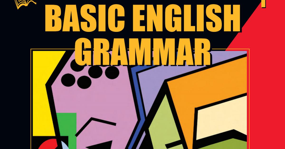 Basic English Grammar Book Free Download idea gallery