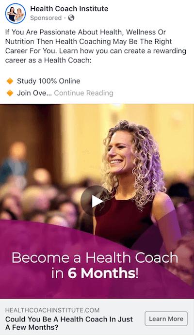 Health Coach Institute Ad