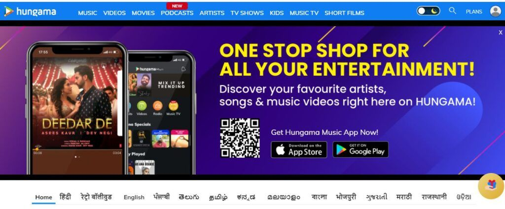 What is Hungama Play