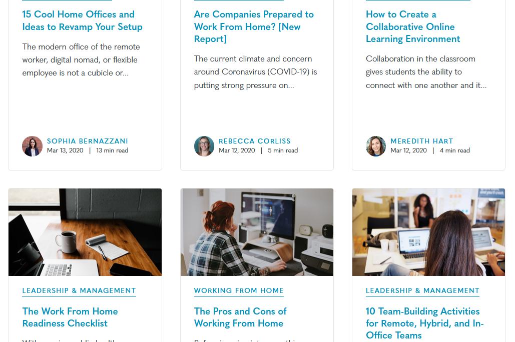 Owl Labs blog screenshot