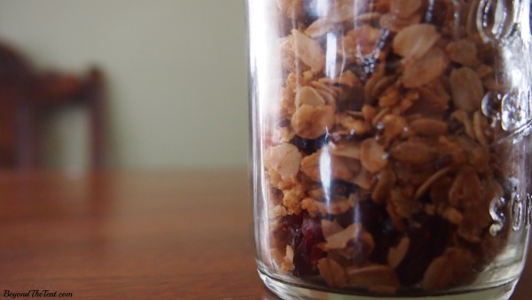 Camp Granola, Camping Recipes