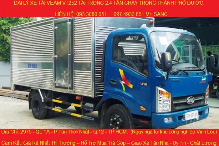 xe tai dongben 870kg thung mui kin thung lung gia chi 149 trieu co ban tra gop