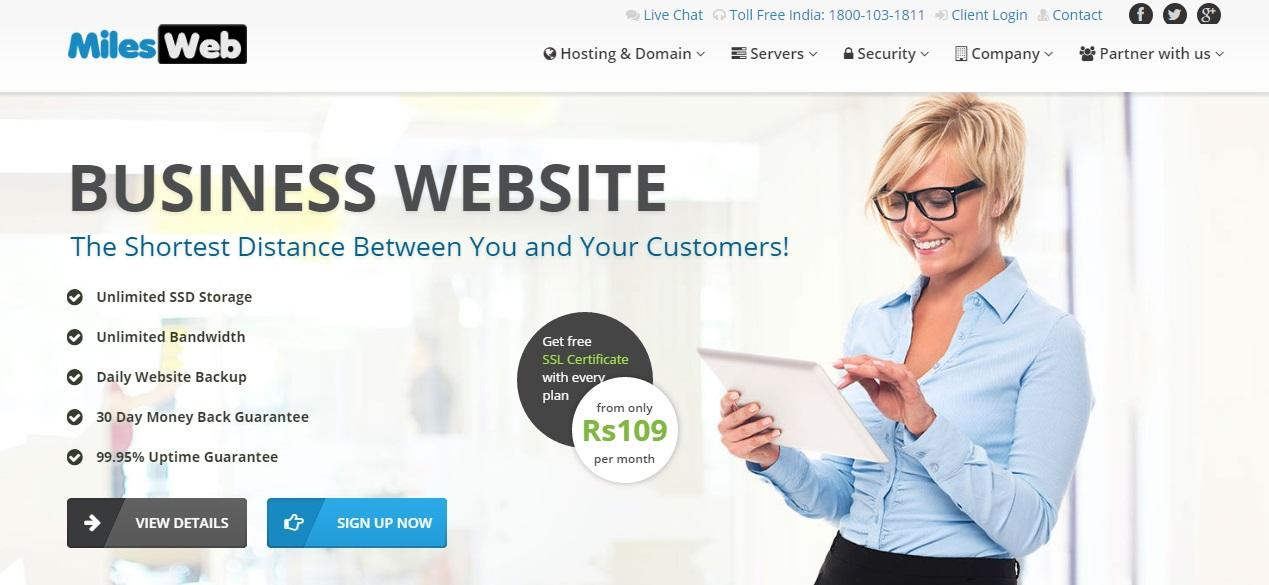 MilesWeb Hosting Review: The Best Web Hosting Provider of India