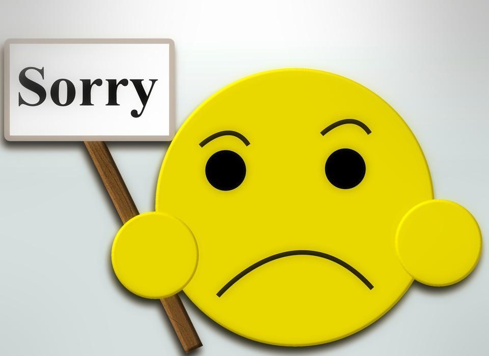 Hãy thể hiện thái độ xin lỗi thật lòng