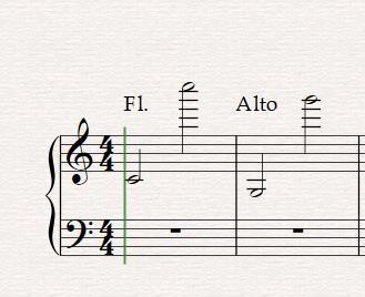 range of flute vs alto flute