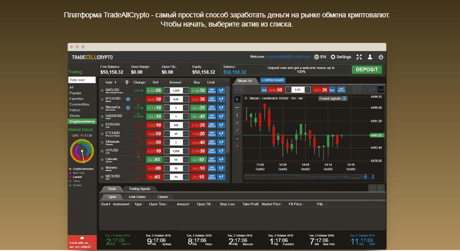 TradeAllCrypto - подробный обзор компании, Фото № 3 - 1-consult.net