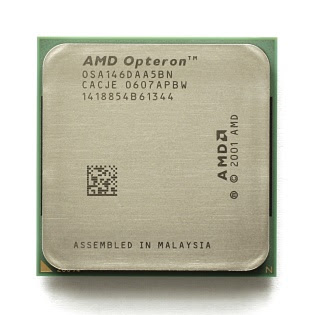AMD Opteron, the first CPU to introduce the x86-64 extensions in 2003