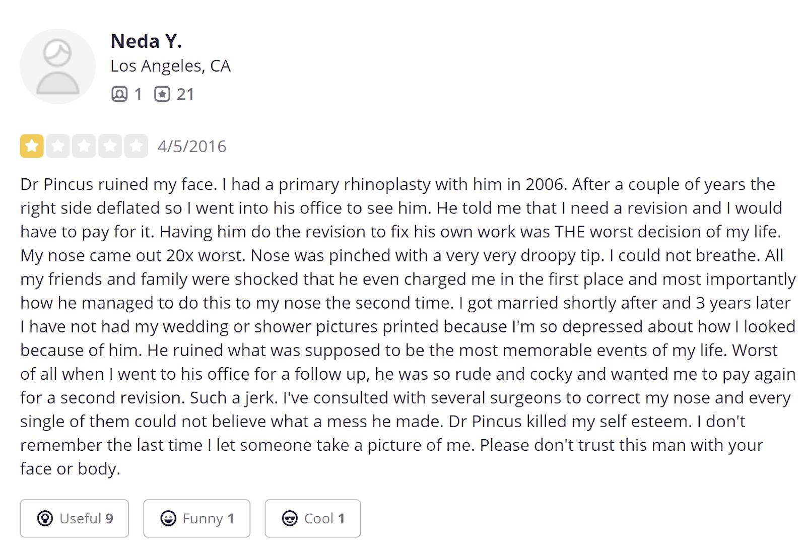 Stephen J Pincus review