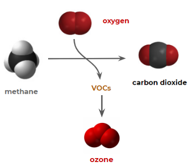 Formation of Methane