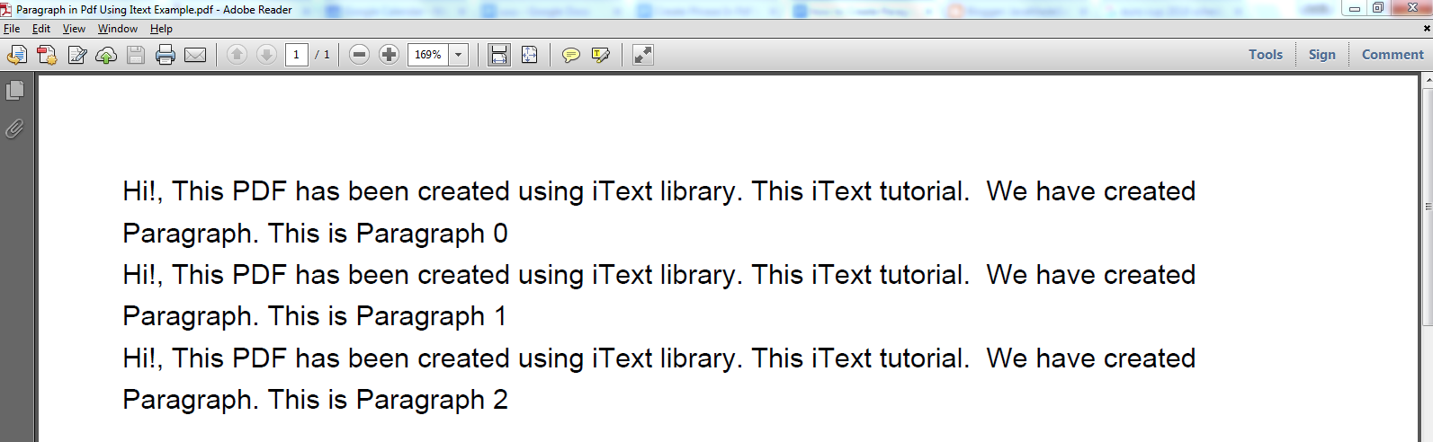 Java Program To Pdf File