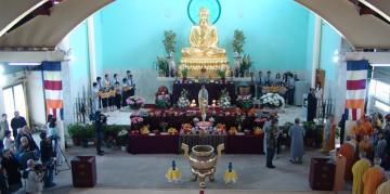 Chùa Khánh Anh Evry mở cửa  đón khách thập phương nhân mùa Phật đản