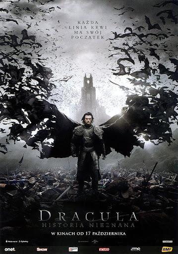 Przód ulotki filmu 'Dracula: Historia Nieznana'