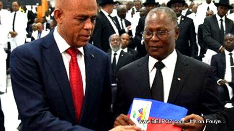 Image result for martelly privert   photos