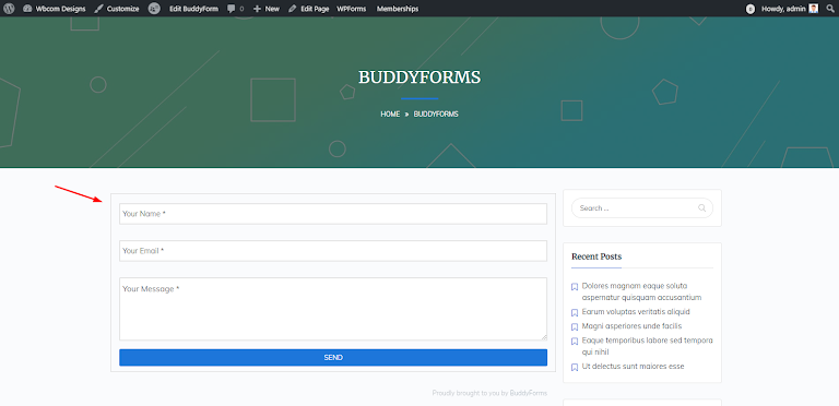 BuddyForms Members Review