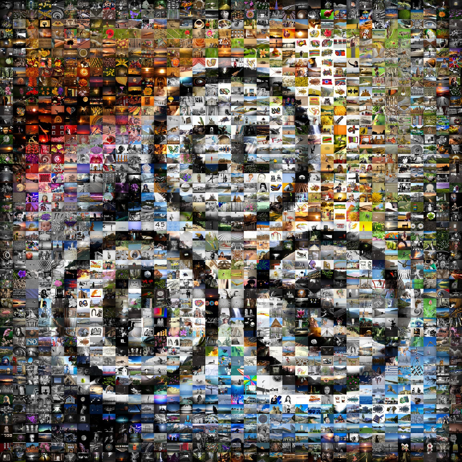 image with the letters CC 0 and C with a crossed out symbol across it. Image is a composite of 1000s of images in the background