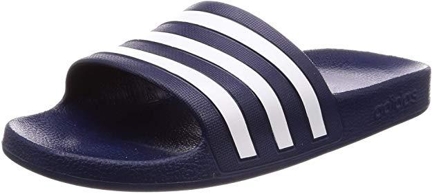 adidas Adilette Aqua, Zapatillas de Deporte Unisex niño, Azul (Azul 000), 38 EU