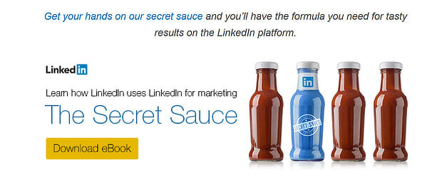 linkedin content marketing example
