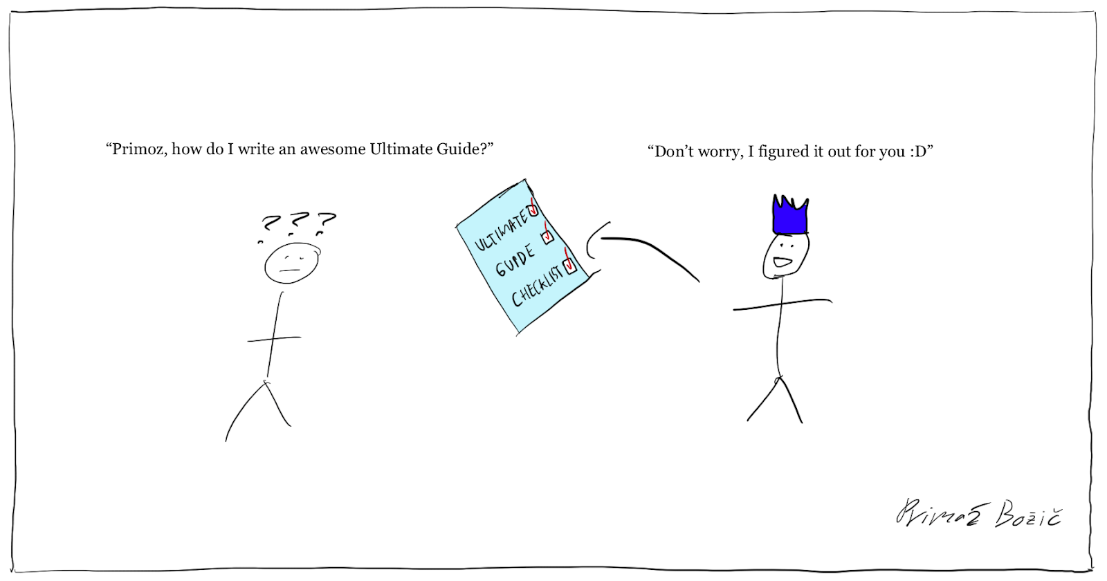 How to write an Ultimate Guide