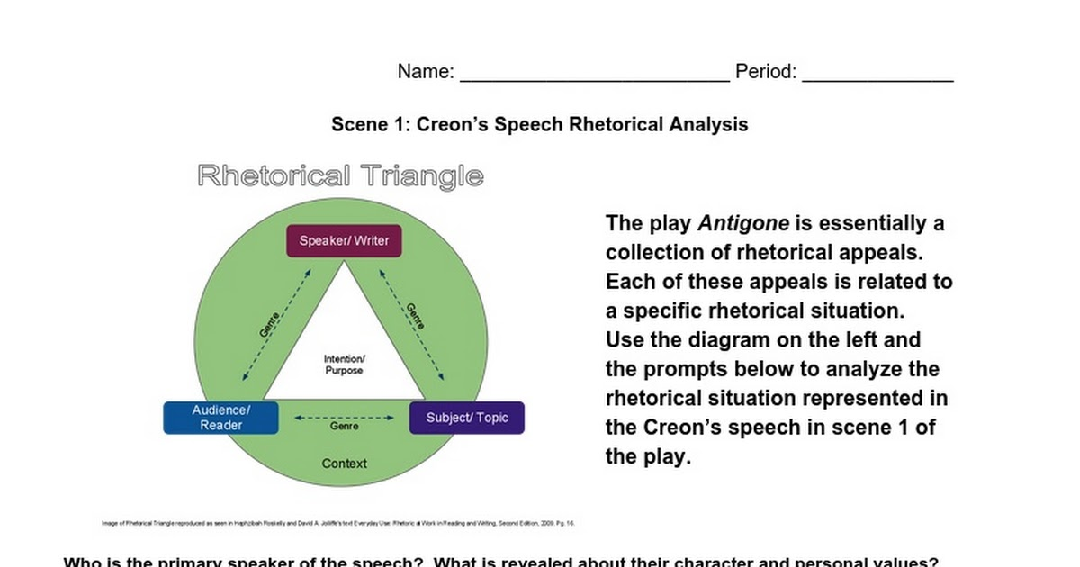 an analysis of creon Antigone: theme analysis in antigone, creon, antigone, haemon, the chorus, and teiresias all have something to say on how a ruler should govern thebes.