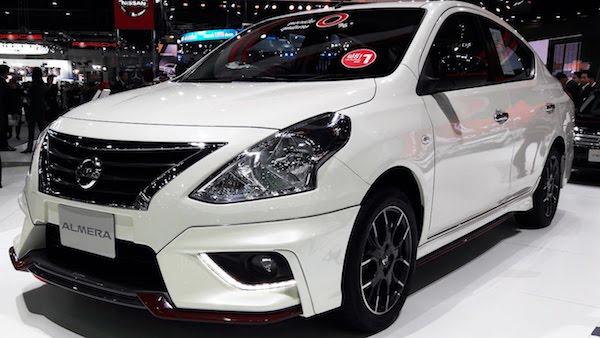 Nissan Almera โฉมปัจจุบัน 2017