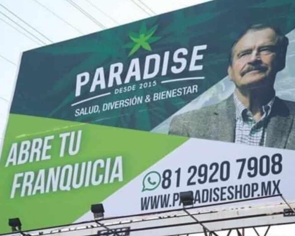 """Anuncio de empresa de Cnnabis de Fox """"Paradise"""""""