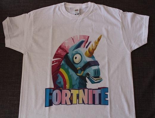 Sportinátor - dětské tričko s potiskem Fortnite
