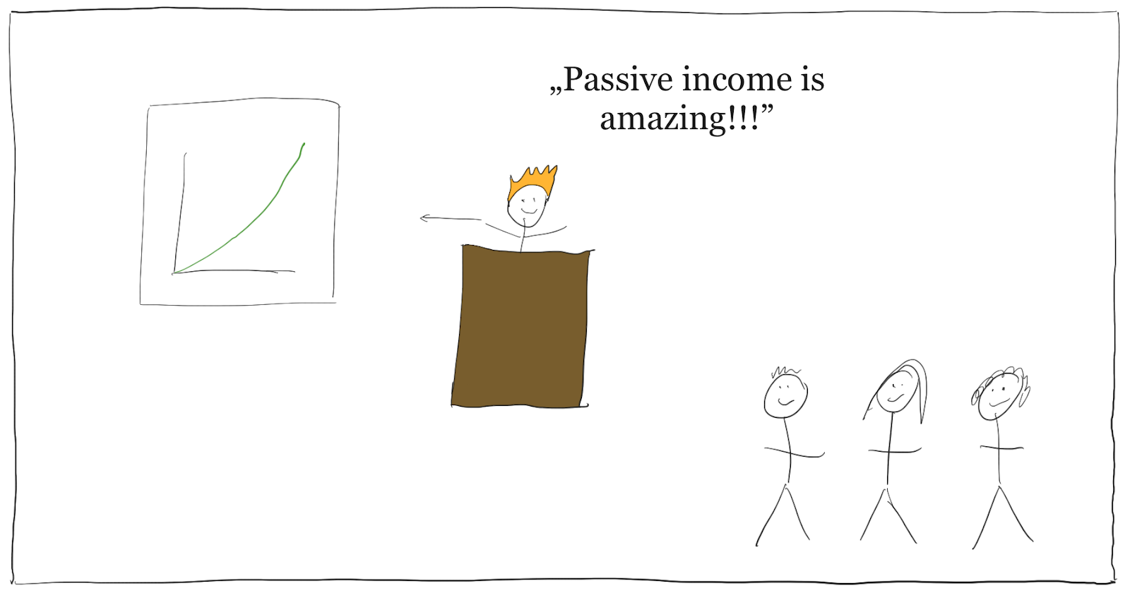 passive income is amazing