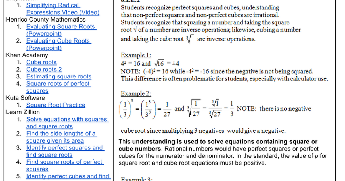 Printable Worksheets square roots and cube roots worksheets : Solving Cube Root Equations Examples - Tessshebaylo