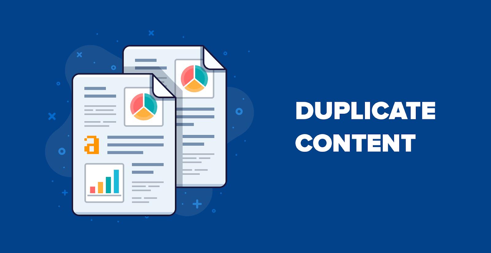 Hasil gambar untuk duplicate content