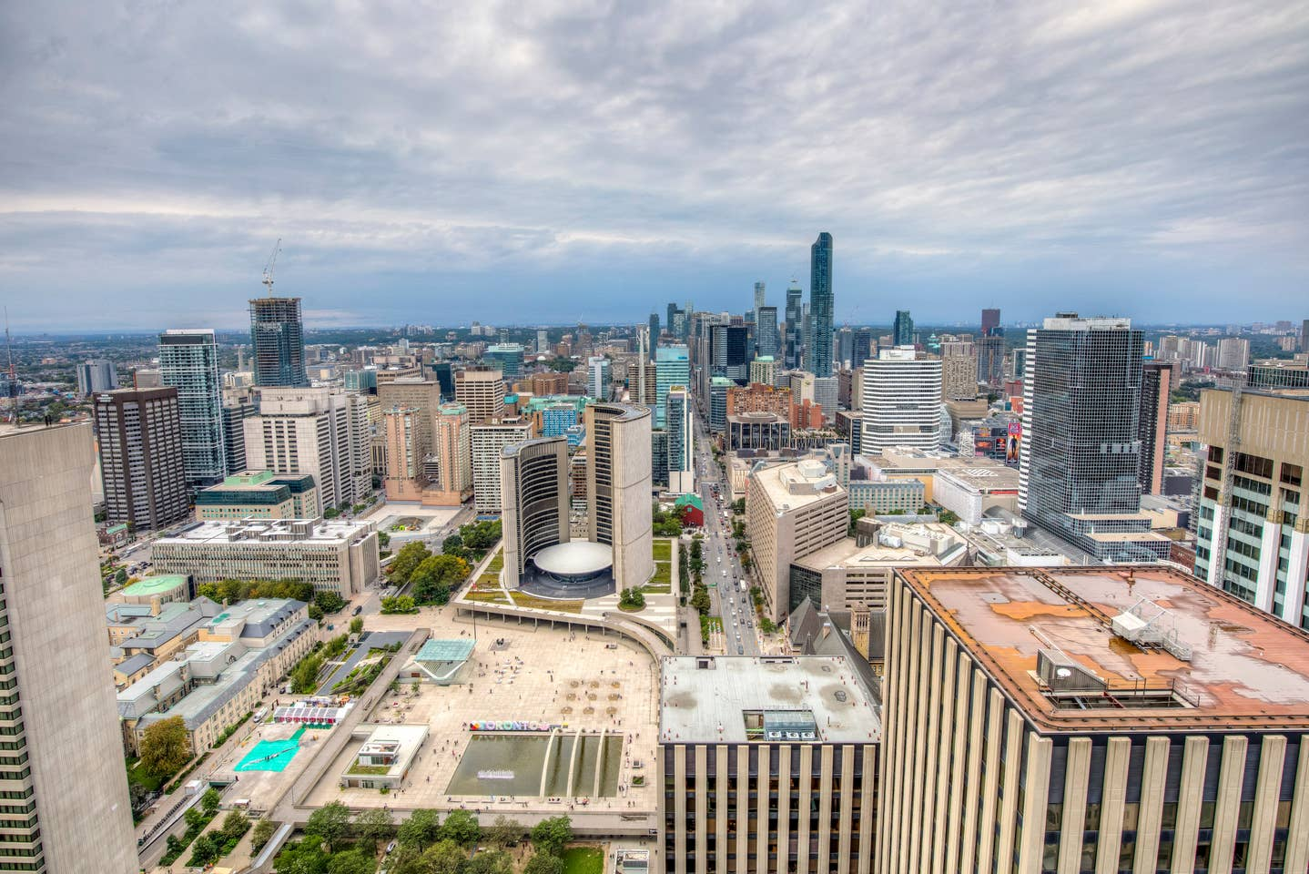Furnished Sky view condo in Toronto