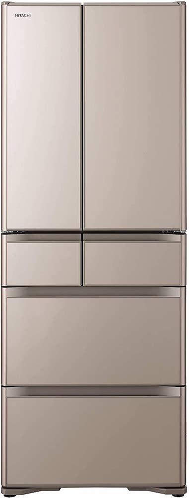 日立 冷蔵庫 クリスタルシャンパン R-X48N