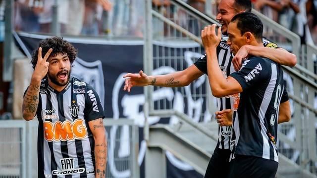 Luan, atacante do Atlético-MG