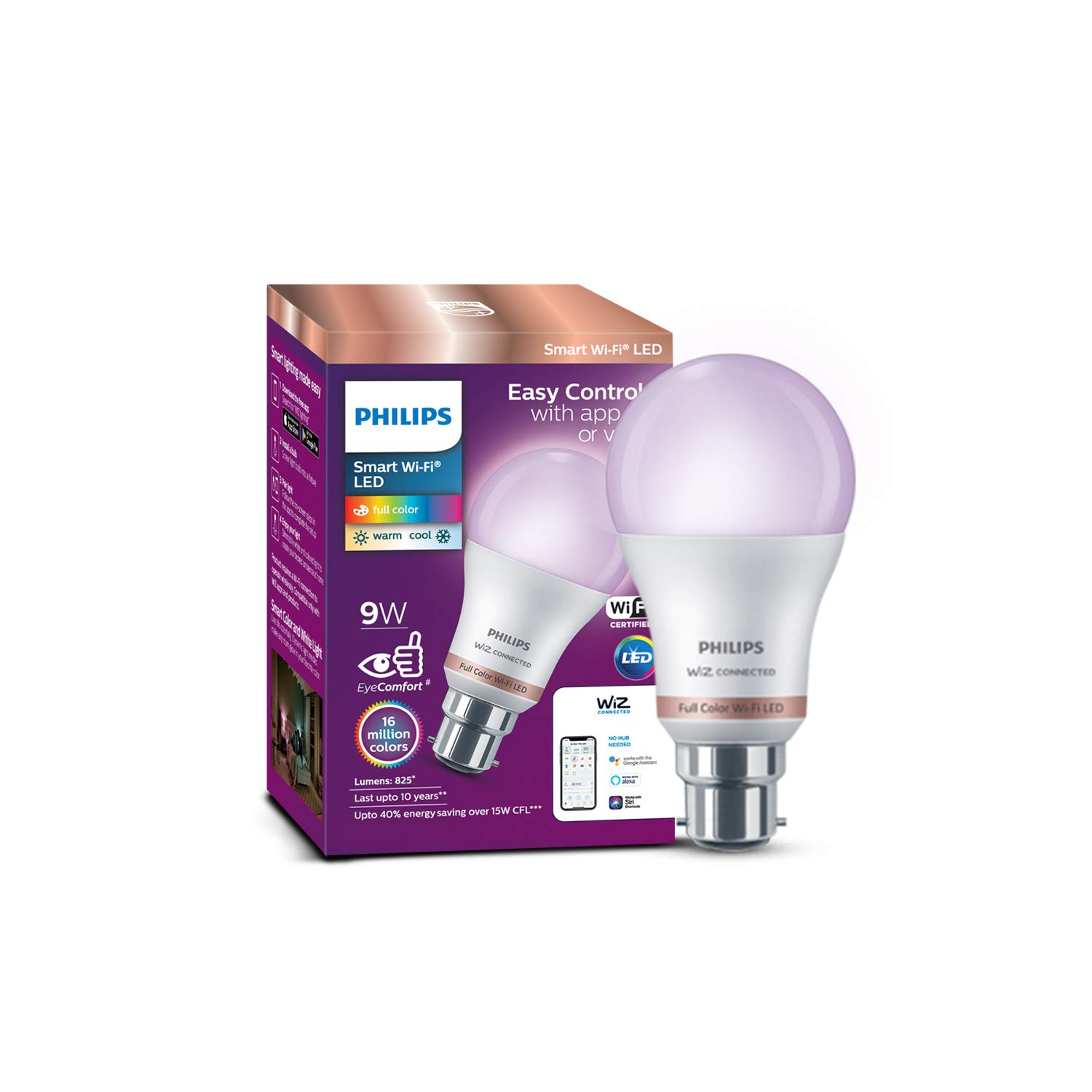 Philips Smart Wi-Fi LED bulb