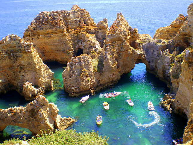 Portugal's scenic lagoon