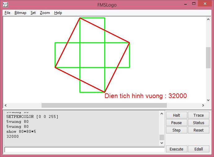 5 hình vuông