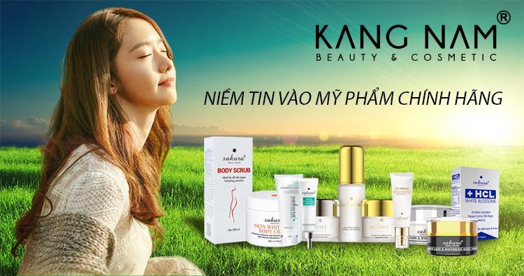 Kang Nam là một trong số ít đại lý uy tín chất lượng của mỹ phẩm Sakura