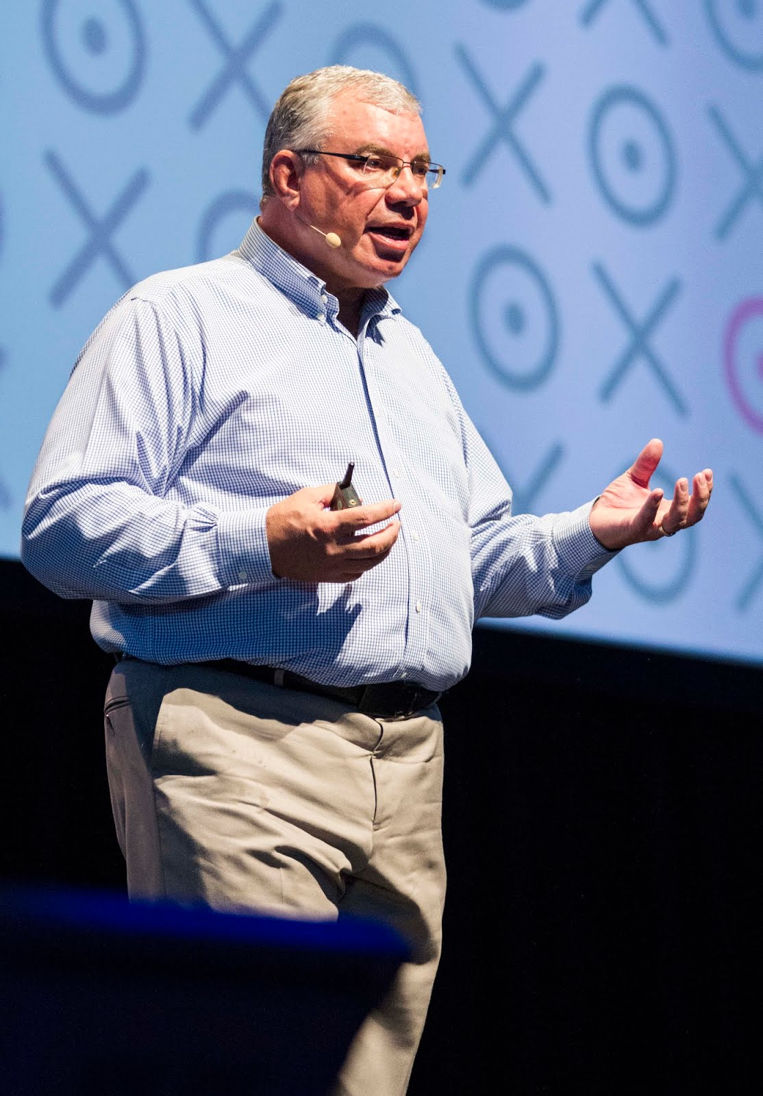 Gerhard Vorster, Chief Strategy Officer at Deloitte Australia and Asia Pacific, at Xerocon New Zealand 2014