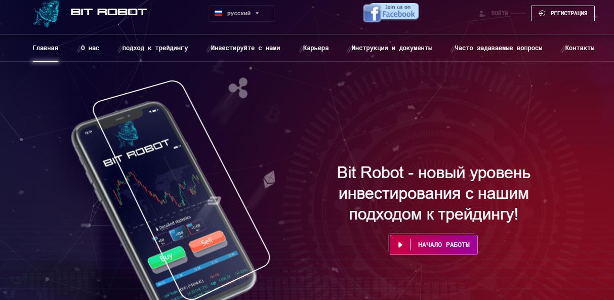 Инвестиционный проект Bit Robot: обзор и отзывы