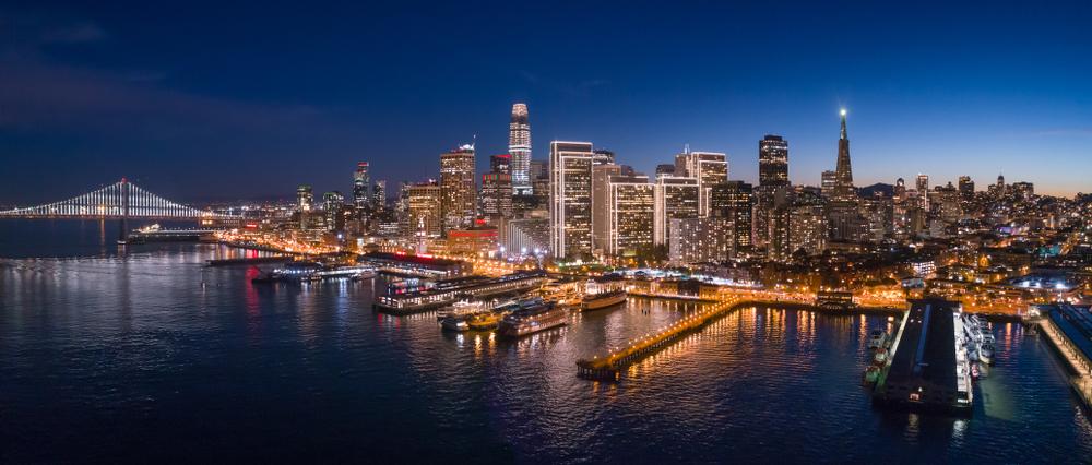 Em São Francisco, na Califórnia, o mercado imobiliário registrou queda de 20% no valor dos aluguéis. (Fonte: Shutterstock)