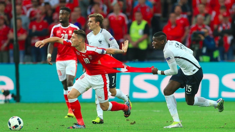 Pháp đã hòa Thụy Sĩ ở lần đối đầu gần nhất