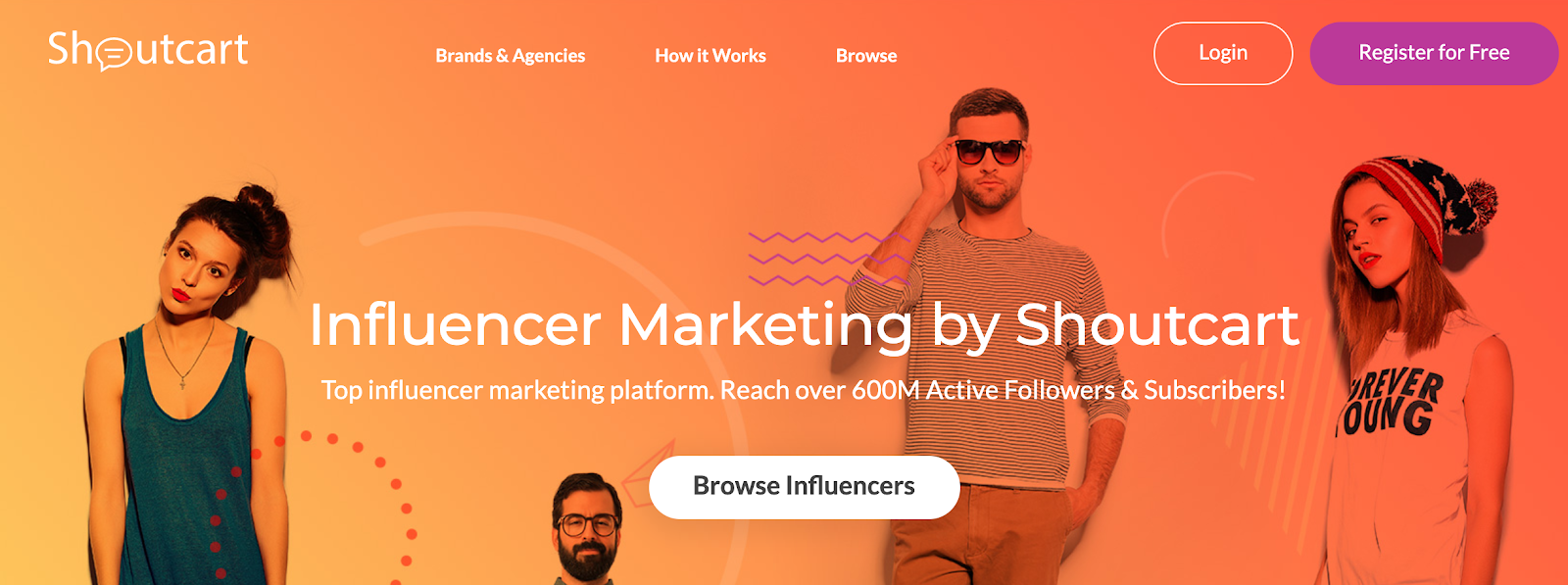 Shoutcart - Top Influencer Marketing Platform