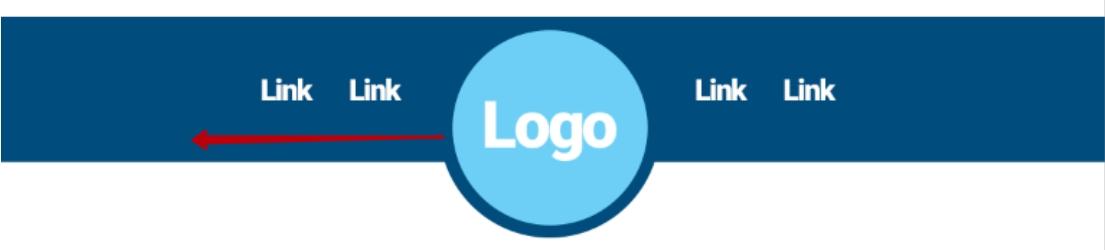 Logo should be left-aligned